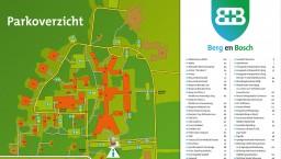 TIP! Gratis overzichtskaart van Berg en Bosch